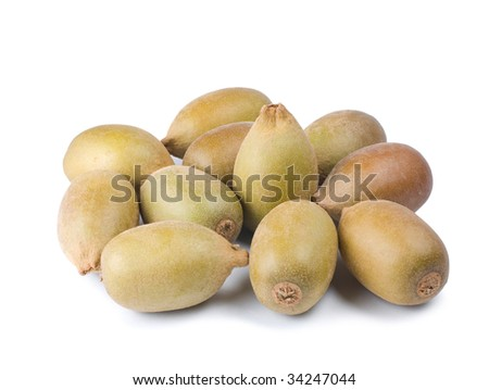 Group of Kiwi fruit