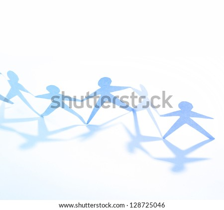 Group of people holding hands. Teamwork concept - stock photo