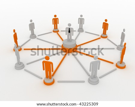 group of people in the network