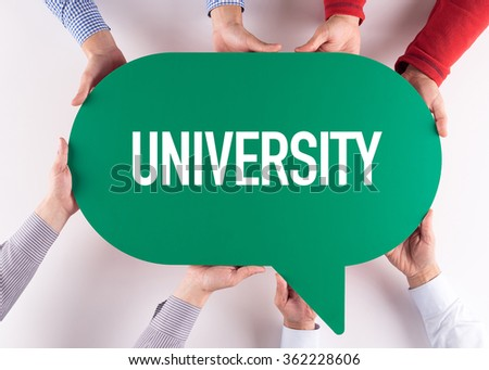 Group of People Message Talking Communication UNIVERSITY Concept - stock photo