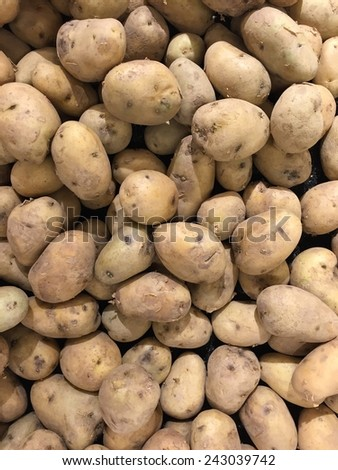 Group of potatoes on sale