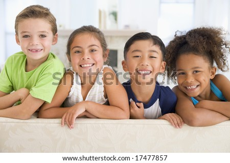 Group Of Young Friends Together - stock photo