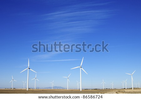 group windmills for electric power generation alternative