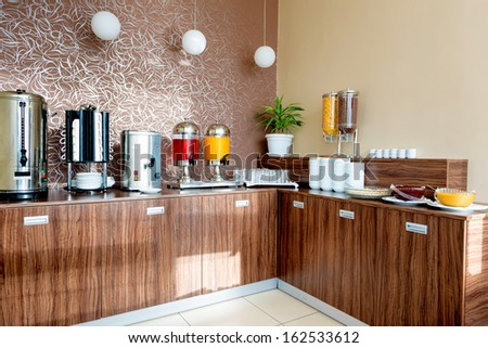 Groups of Buffet in the Restaurant - stock photo