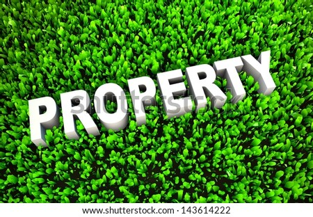 Growing Property Wealth and Wise Growth of Money - stock photo
