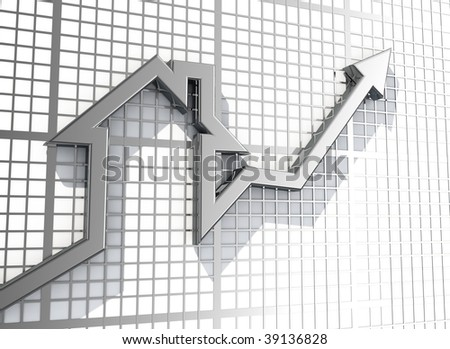 Growing Real Estate sales - stock photo