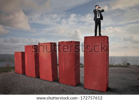 growing work - stock photo