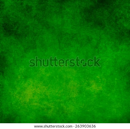 Grunge abstract green background - stock photo