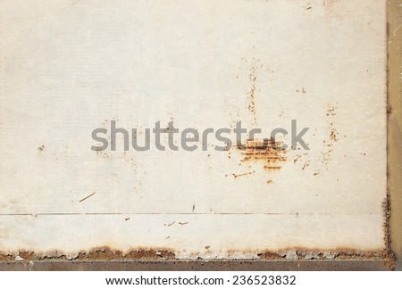 grunge background, bright board paper texture - stock photo