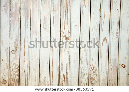 Grunge background from weathered wooden plank - stock photo