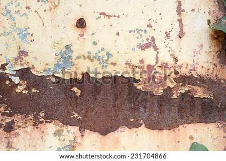 grunge background metal plate texture, old scratched metal texture - stock photo