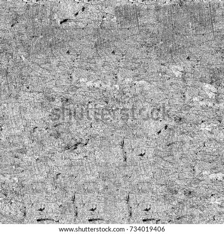 Grunge background of black and white. Seamless abstract texture. A pattern of scratches, stains, cracks