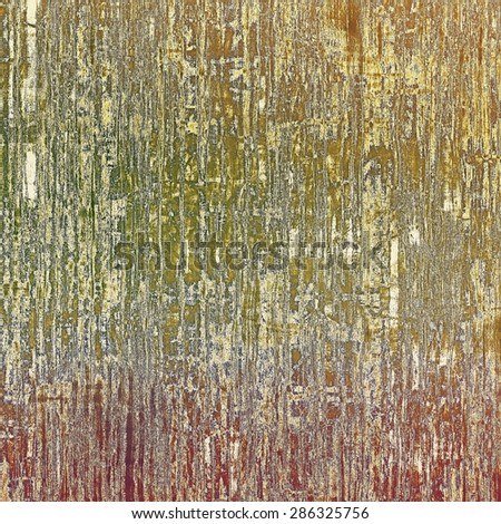 Grunge background or texture for your design. With different color patterns: yellow (beige); brown; gray; green