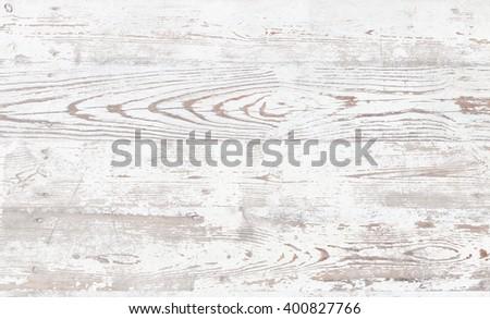 Grunge background. Peeling paint on an old wooden floor - stock photo