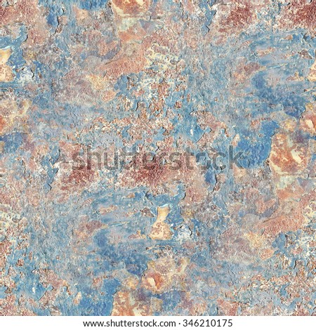 Grunge Background Rusty Metal Texture Seamless