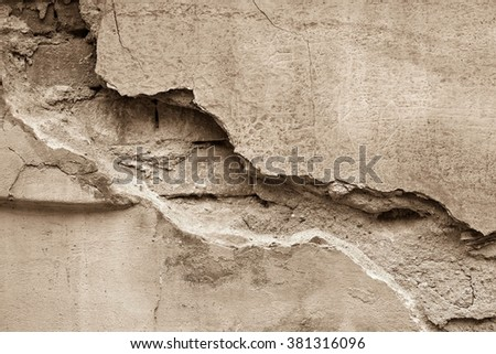 Grunge background / Sandstone surface background / Wall texture backgrounds - stock photo