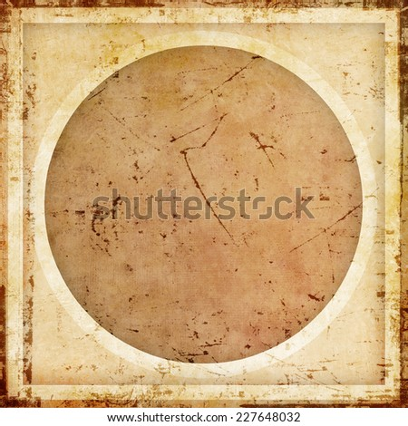 Grunge background with circle