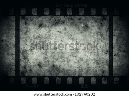 Grunge background with copy space for your design. Real vintage film texture used - stock photo