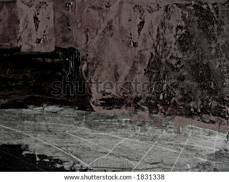 grunge background with painted textured surface.