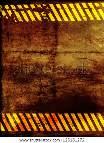 Grunge background with rusty metal texture