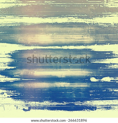 Grunge background with space for text or image. With different color patterns: yellow (beige); brown; gray; blue - stock photo