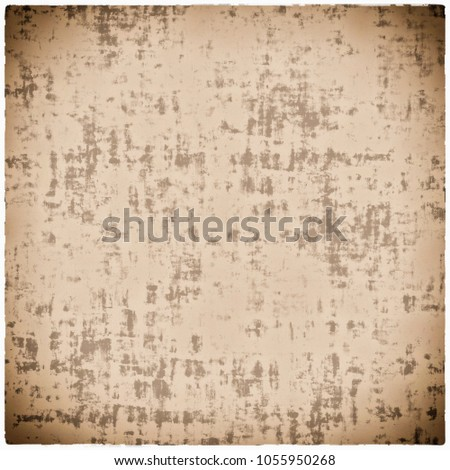 Grunge Beige Textured Paper Background Vintage Retro Stains