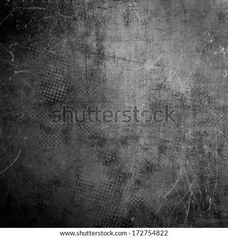 Grunge black and white background - stock photo