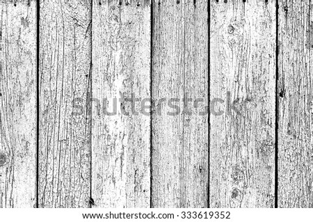 Grunge Black and White Distress Dirt Cracked Scratch Texture. Texture over any Object to Create Distressed Effect . Abstract Overlay. Background wooden boards