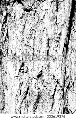 Grunge Black and White Distress Dirt Cracked Scratch Texture. Texture over any Object to Create Distressed Effect . Abstract Overlay. Background wooden boards - stock photo
