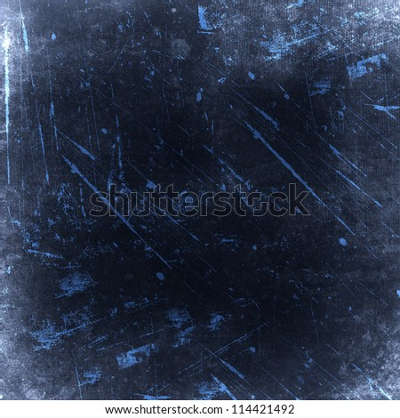 Grunge black background - stock photo