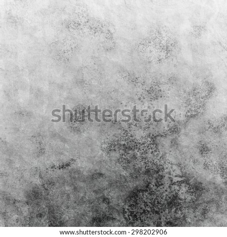 Grunge black wall (grey urban concrete wall texture)  - stock photo