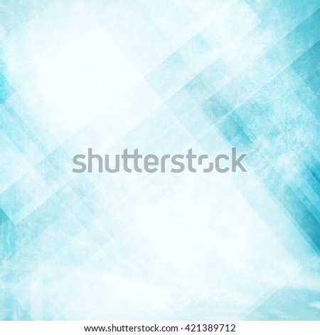 Grunge blue background with abstract design, vintage old blue background design, neutral colors, triangle  shapes with angled lines in abstract pattern layers - stock photo