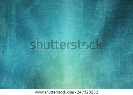 grunge blue-green abstract background - stock photo