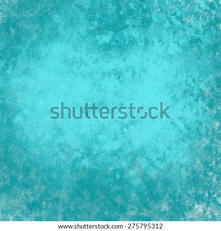 Grunge blue green  background - stock photo