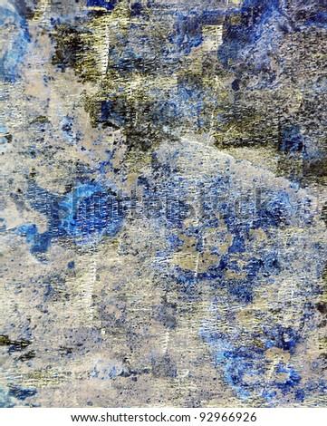 Grunge blue texture background - stock photo