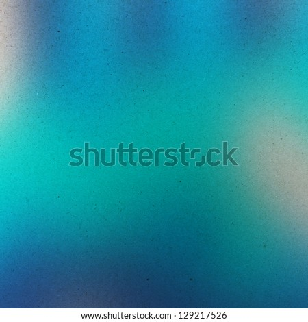 grunge blue water color background - stock photo