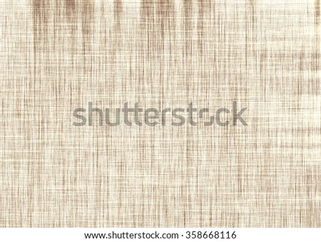 Grunge brown and white distress texture. Dirty effect with stains and scratches. Grainy tartan wallpaper. Old vintage paper papyrus with stains and spots. Old faded cracks background template. - stock photo