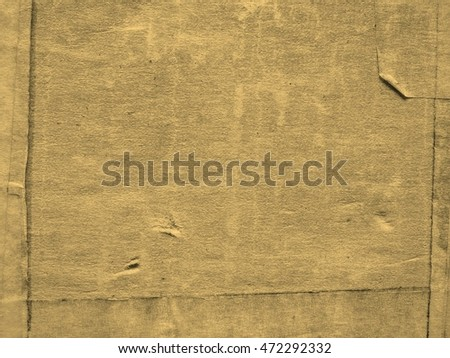 Grunge brown corrugated cardboard useful as a background vintage sepia
