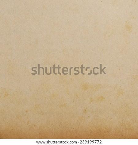 grunge brown paper texture - stock photo