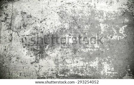 grunge cement background - darken effect - stock photo