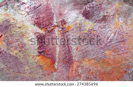 Grunge color background. Art abstract painted background in old gold, brown, beige, yellow and white colors. Grunge textured background. Interior decor.