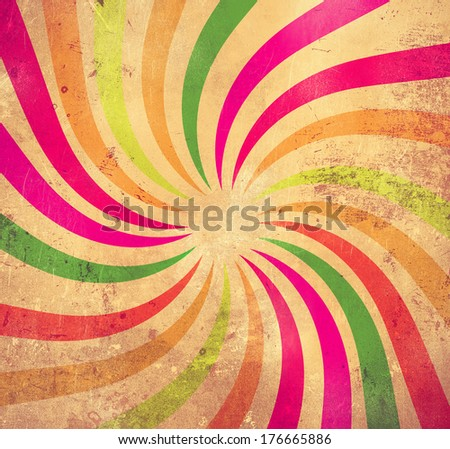 Grunge colorfu background - stock photo
