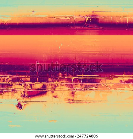 Grunge colorful texture for retro background. With different color patterns: red (orange); yellow (beige); purple (violet); cyan; pink - stock photo