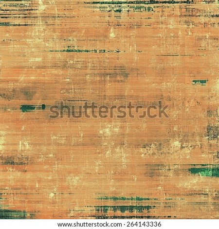 Grunge colorful texture for retro background. With different color patterns: yellow (beige); brown; green - stock photo