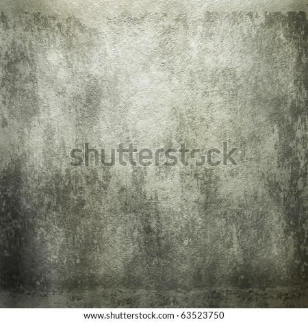 Grunge concrete wall - stock photo