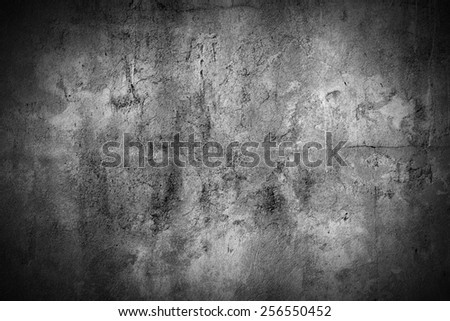 grunge concrete wall background - stock photo