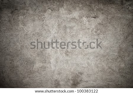 Grunge concrete wall background or texture - stock photo