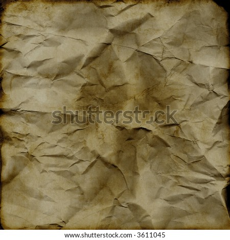 grunge, crumbled/vintage background - stock photo