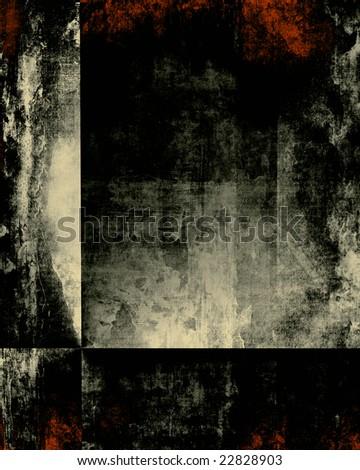 Grunge Dark Texture - stock photo