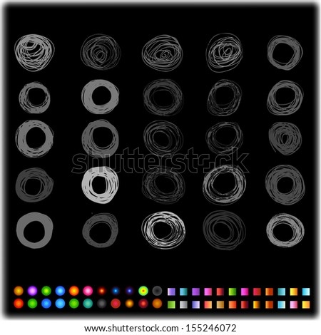 Grunge Design Element - stock photo